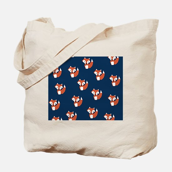 Unique Red fox Tote Bag