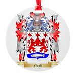 Neill Round Ornament