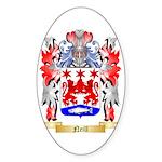 Neill Sticker (Oval 50 pk)