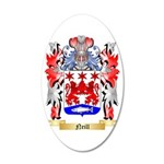 Neill 35x21 Oval Wall Decal