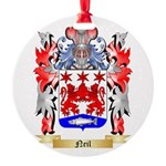 Neil Round Ornament