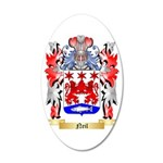Neil 35x21 Oval Wall Decal
