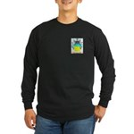 Negru Long Sleeve Dark T-Shirt