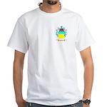 Negru White T-Shirt