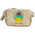Negru Messenger Bag