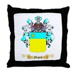 Negru Throw Pillow