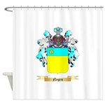 Negru Shower Curtain