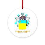 Negru Round Ornament
