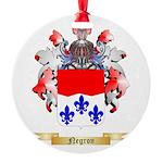 Negron Round Ornament