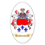 Negron Sticker (Oval 10 pk)