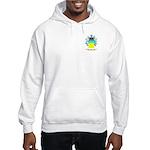 Negro Hooded Sweatshirt