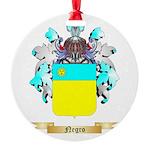 Negro Round Ornament