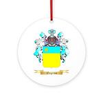 Negrino Round Ornament