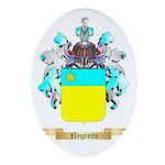 Negretto Oval Ornament