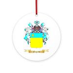 Negreto Round Ornament