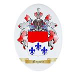 Negrete Oval Ornament