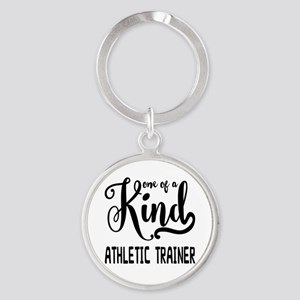 One of a Kind Athletic Trainer Round Keychain