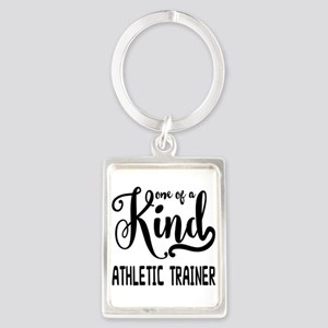 One of a Kind Athletic Trainer Portrait Keychain