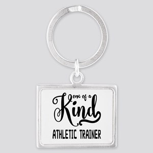 One of a Kind Athletic Trainer Landscape Keychain