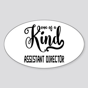 One of a Kind Assistant Director Sticker (Oval)