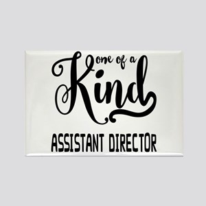 One of a Kind Assistant Director Rectangle Magnet