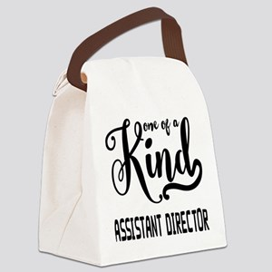 One of a Kind Assistant Director Canvas Lunch Bag