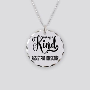 One of a Kind Assistant Dire Necklace Circle Charm