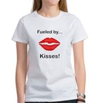 Fueled by Kisses Women's T-Shirt