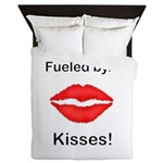 Fueled by Kisses Queen Duvet