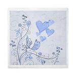 Blue Romance Queen Duvet