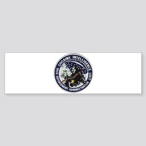 D.E.A. Cocaine Intel Bumper Sticker