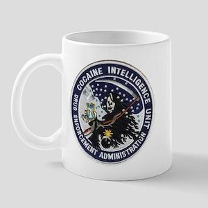 D.E.A. Cocaine Intel Mug