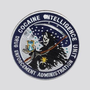 D.E.A. Cocaine Intel Ornament (Round)