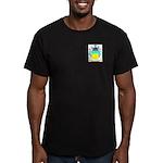 Negreanu Men's Fitted T-Shirt (dark)