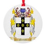 Neeves Round Ornament