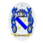 Needham Oval Ornament