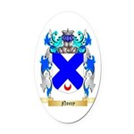 Neecy Oval Car Magnet