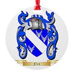 Nee Round Ornament