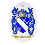 Nee Oval Ornament