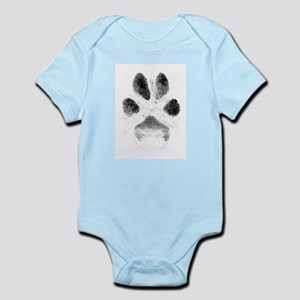 Zoe Pawprint Infant Bodysuit