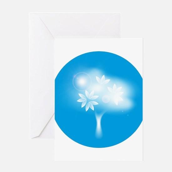 Spirit tree Greeting Cards