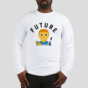 Emoji Future Artist Long Sleeve T-Shirt