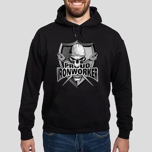 Proud Ironworker Skull Hoodie