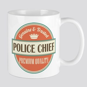 police chief vintage logo Mug