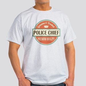 police chief vintage logo Light T-Shirt
