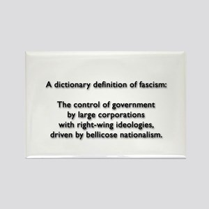 Fascism Rectangle Magnet
