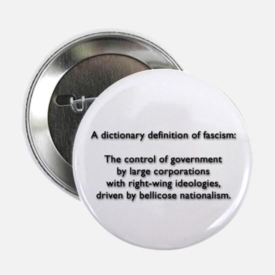 "Fascism 2.25"" Button"