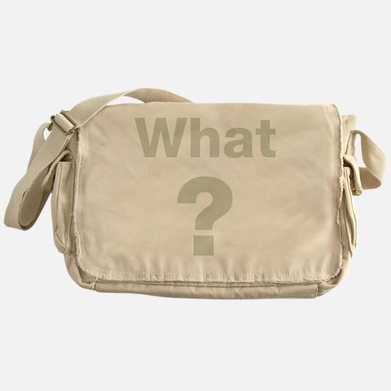 Unique Stone Messenger Bag