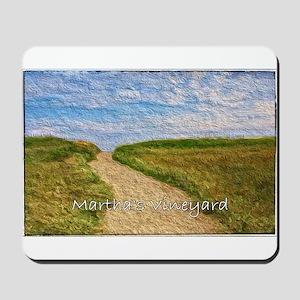 Chilmark Beach Path Mousepad