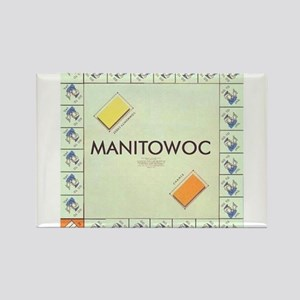 Manitowoc County monopoly Magnets